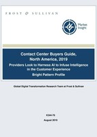 Frost & Sullivan Profiles Bright Pattern As Top-Performing Global Cloud Contact Center Provider
