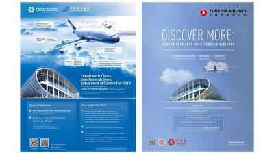 La edición 126 de la Feria de Cantón nomina a China Southern Airlines y Turkish Airlines como socios oficiales (PRNewsfoto/Canton Fair)