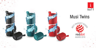 iBall's Musi Twins available in Black, Green and Red colors