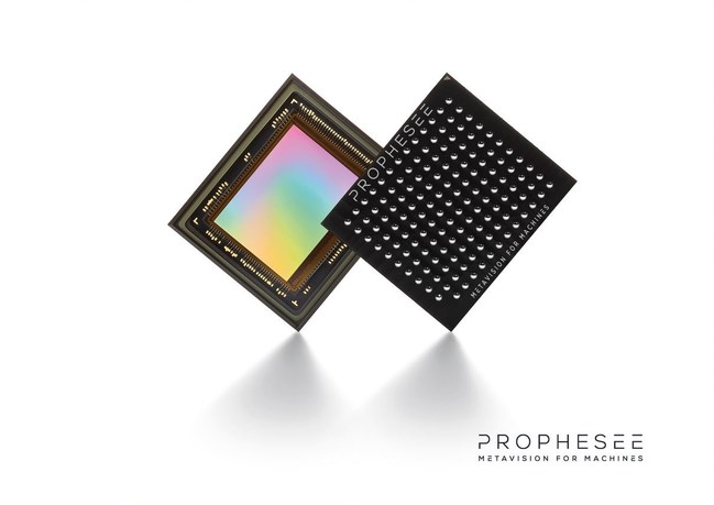Prophesee Metavision sensor is the first industry-standard, commercially-viable packaged chip that leverages Event-Based Vision technology to enable next-generation vision in industrial automation and IoT systems.