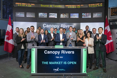 Canopy Rivers Inc. Opens the Market (CNW Group/TMX Group Limited)