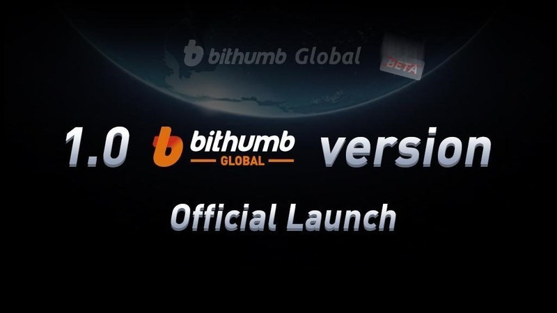 Bithumb Global 1.0 Official Launch (PRNewsfoto/Bithumb Global Holdings Limited)