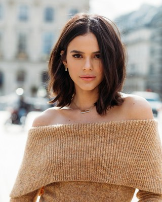 Bruna Marquezine photographed in Paris for Chopard digital campaign led by London-based creative agency MG Empower.