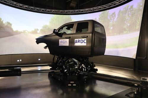 FCA Automotive Research & Development Center Houses Most Advanced Driving Simulator in North America