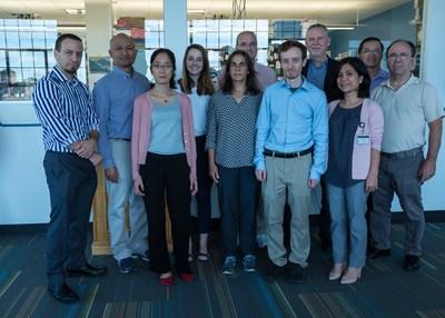 Versatope Therapeutics team in Lowell, Massachusetts is developing a universal influenza vaccine candidate. Copyright 2019 Versatope