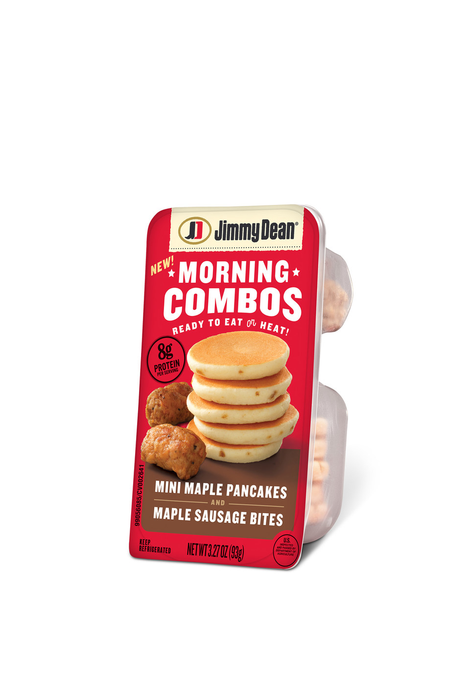 Available nationwide this October, Jimmy Dean Morning Combos are your favorite breakfast made mini. These on-the-go packs offer a convenient way to enjoy a protein packed, warm breakfast.