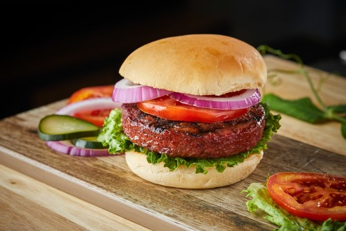 Sweet Earth Foods plant-based Awesome Burger