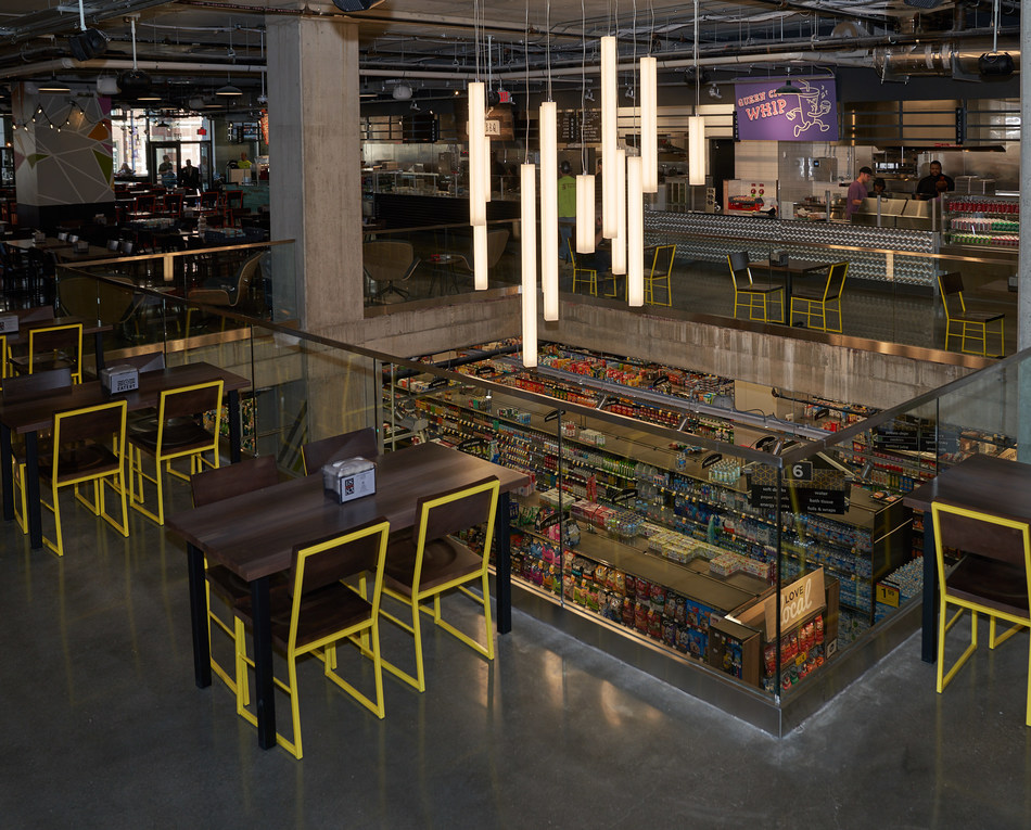 Kroger Opens Two-Level Store in Downtown Cincinnati  with First-Ever Food Hall.