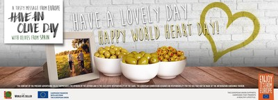 Celebrate World Heart Day with these healthy recipes created by Olives From Spain.