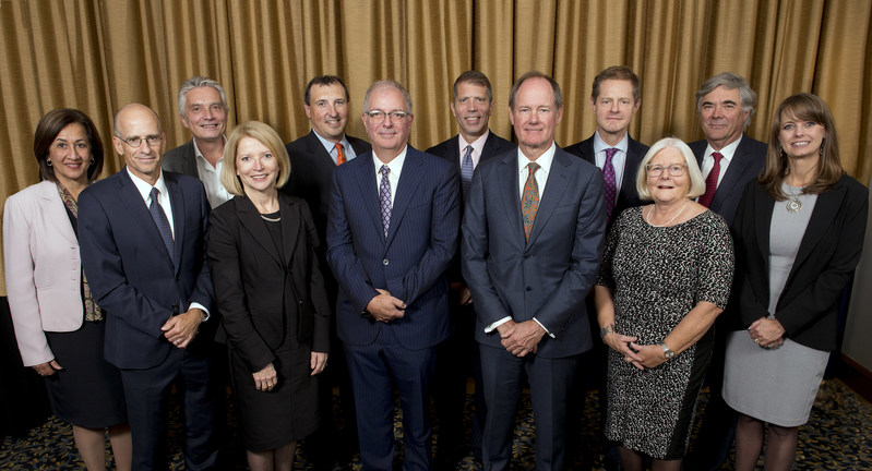 IIROC 2019-20 Board of Directors at IIROC's Annual General Meeting in Montreal, Quebec on September 24, 2019. Twelve of 15 members represented (two Directors not present; one vacancy). (CNW Group/Investment Industry Regulatory Organization of Canada (IIROC) - General News)