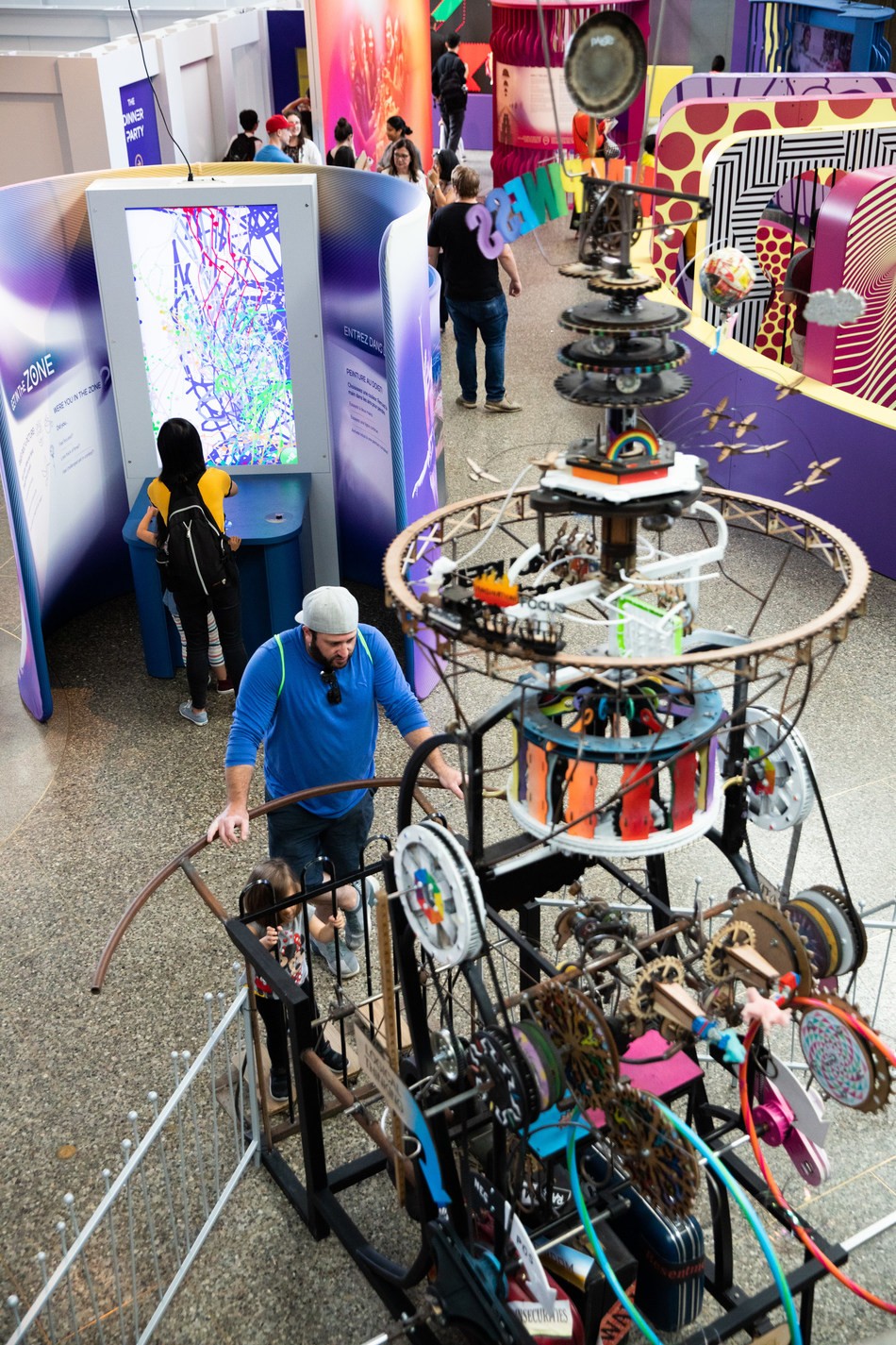 MindWorks, new psychology exhibition at the Ontario Science Centre, brings ideas like decision-making, memory and emotions to life through playful, interactive exhibits. MindWorks runs to April 26, 2020. (CNW Group/Ontario Science Centre)
