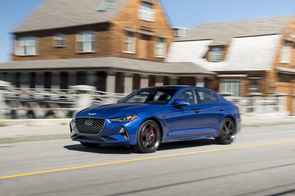 The Genesis G70 luxury sport sedan, named the Top Aspirational Luxury Car in AutoPacific's 2019 Ideal Vehicle Awards.