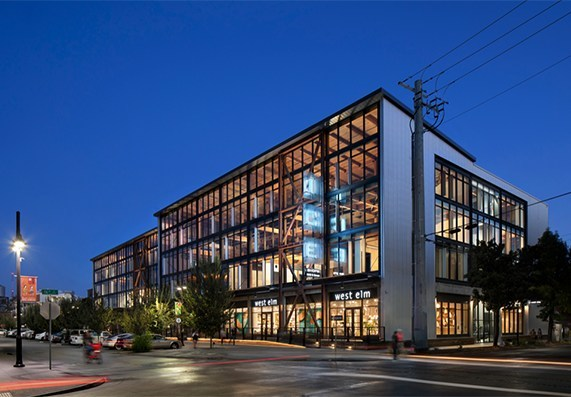 2019 Wood Design Award Winner in Commercial Wood Design - Mid-Rise