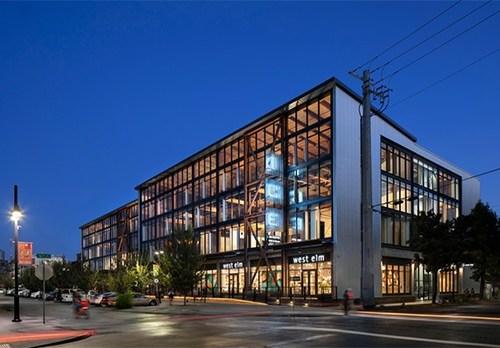 2019 Wood Design Award Winner in Commercial Wood Design - Mid-Rise