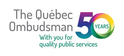 Logo: 50th Quebec Ombudsman (CNW Group/Protecteur du citoyen)