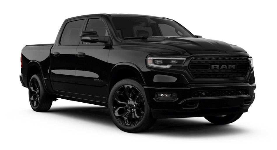 New Ram 1500 Limited Black and Heavy Duty Night Editions Unveiled at the State Fair of Texas