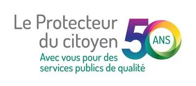 Logo : 50e Protecteur du Citoyen (Groupe CNW/Protecteur du citoyen)