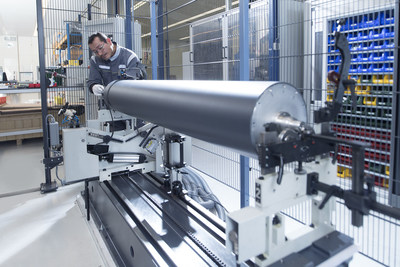 Pronexos is now able to offer significantly increased capacity and capabilities for the manufacture of large carbon fibre rollers