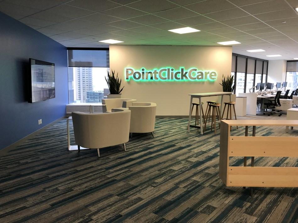 (PRNewsfoto/PointClickCare Technologies Inc.)