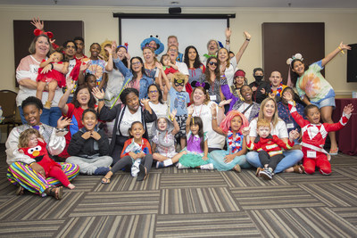 Pictured Above: Fun Day with Families During the Deliver the Dream Retreat at The Fountains Resort in Orlando, FL