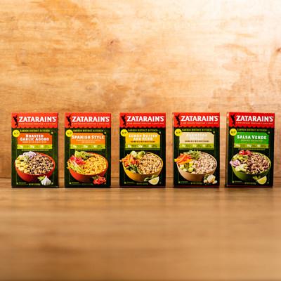 Las nuevas mezclas de arroz integral y frijoles Garden District Kitchen de Zatarain's son un homenaje a los sabores internacionales que conforman la cocina de Nueva Orleans y vienen en cinco exquisitas variedades llenas de proteínas y fibras. www.zatarains.com