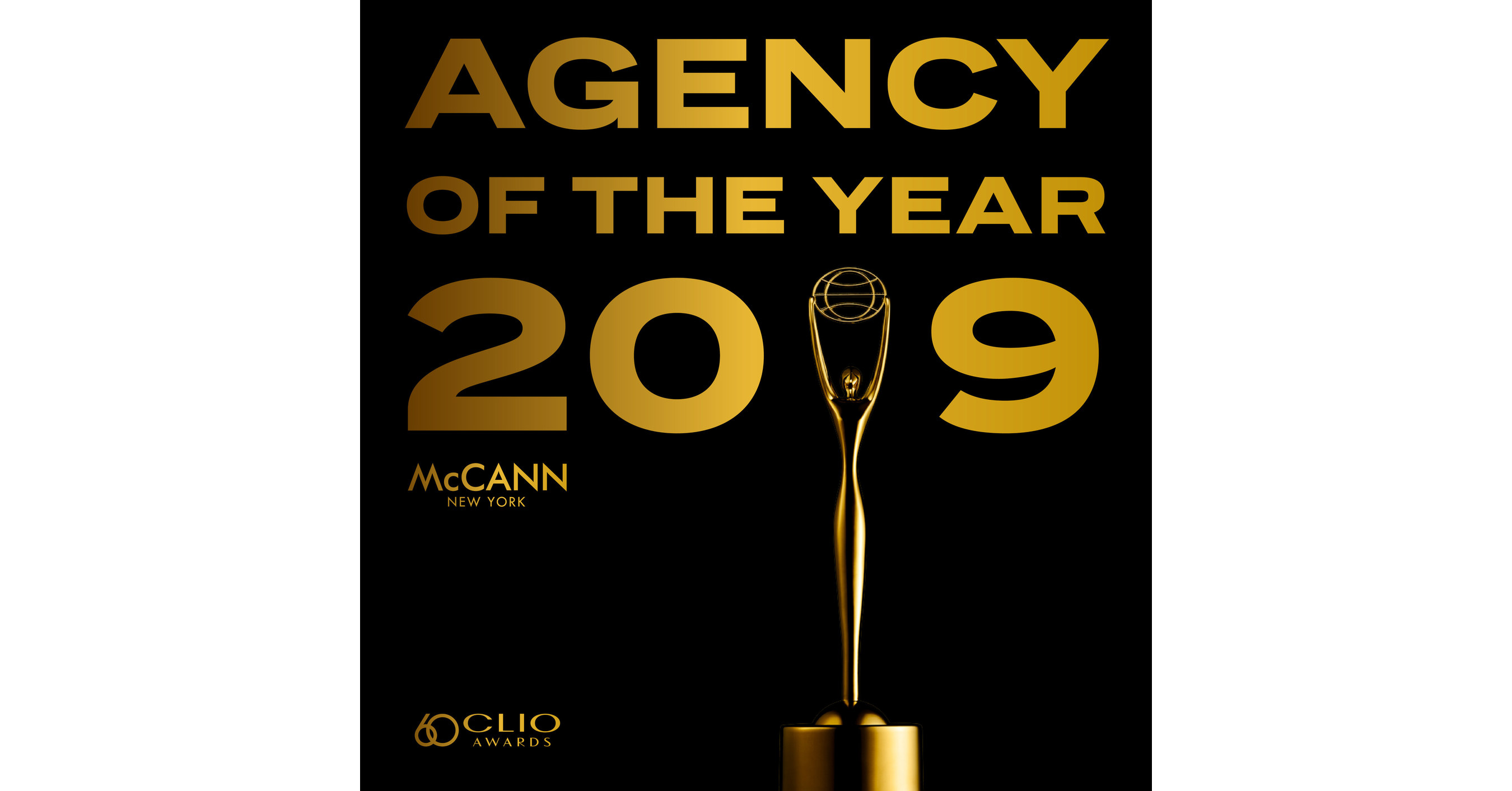McCann Named Agency of the Year at 2019 Clio Awards