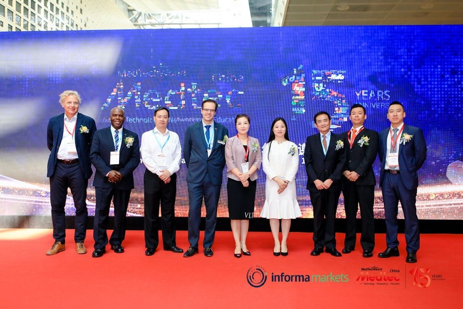 Pictures of the opening ceremony of Medtec China 2019