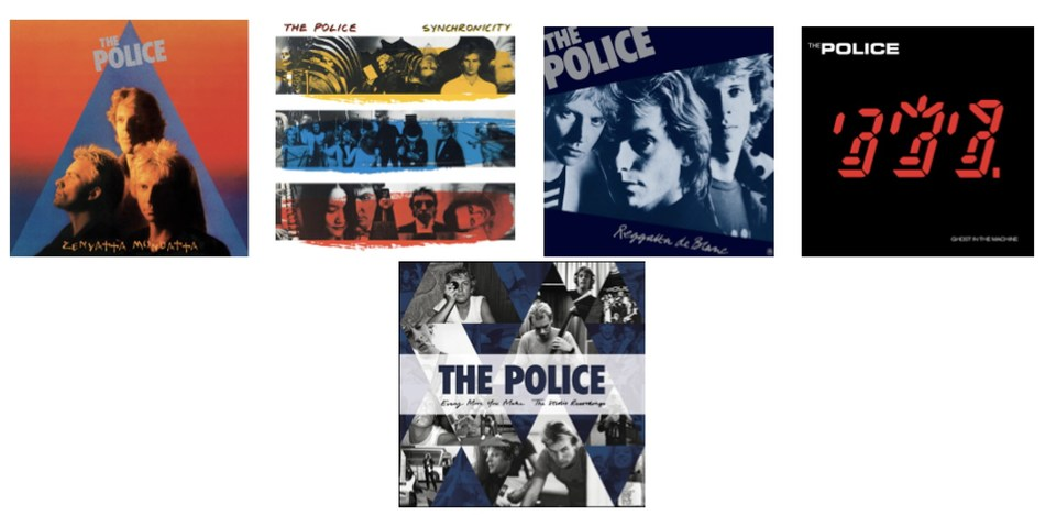 The Police Remastered Versions Of Reggatta De Blanc