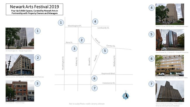 Newark Arts Festival Developers Map