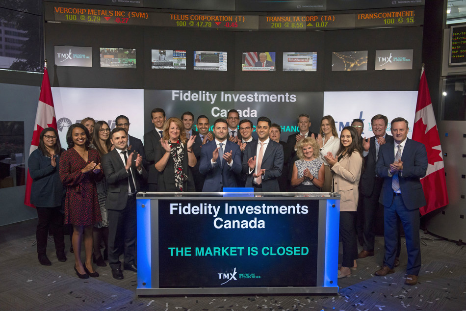 Fidelity Investments Canada Closes the Market (CNW Group/TMX Group Limited)