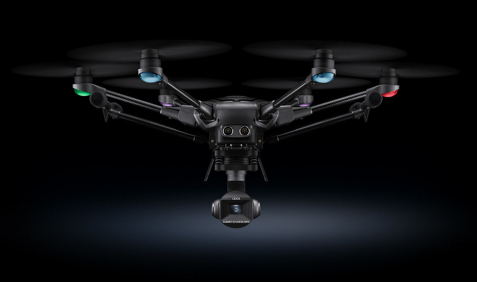 Typhoon H3 with ION L1 Pro camera 'co-engineered with Leica' celebrates world premiere.