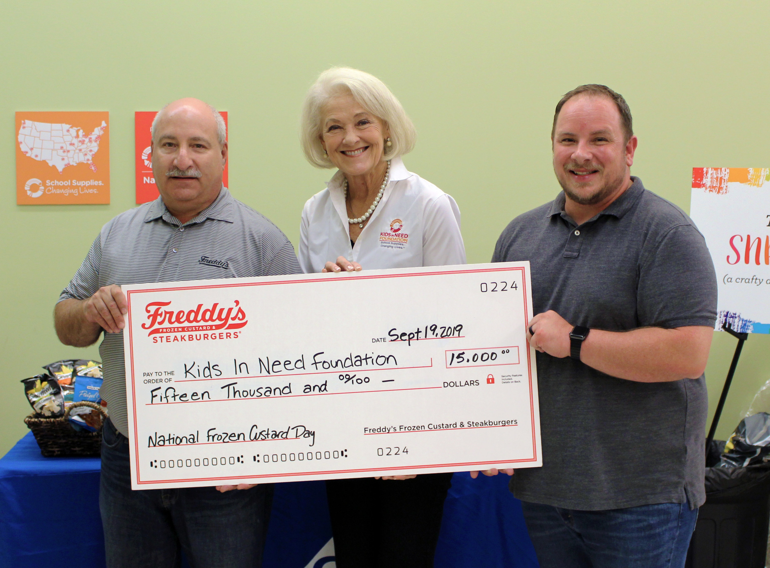 Freddy's National Frozen Custard Day Promotion Raises $15,000 For ...