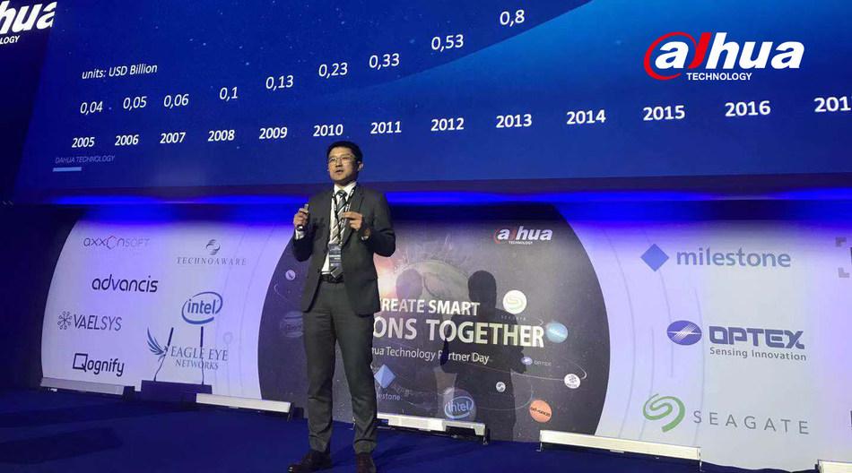 Mr. Jason Zhao, Dahua VP, GM of Overseas Business, Giving the Keynote Speech
