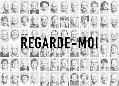 Murale REGARDE-MOI, rendre les invisibles visibles (Groupe CNW/Les Petits Frères)