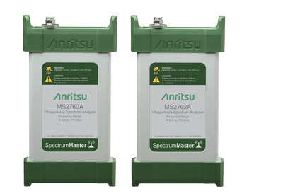 Anritsu's new pocket-sized USB Spectrum Master family provide broadband frequency coverage from 9 kHz - 170 GHz. The spectrum analyzers meet the testing needs of emerging mmWave applications.