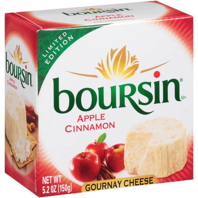 Fall for the Boursin® Cheese New Seasonal Flavor – Apple Cinnamon