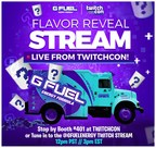 G FUEL Will Reveal its Secret Twitch-Inspired Flavor at TwitchCon San Diego on September 27