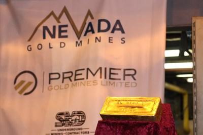 Figure 2: El Nino 1 Gold Bar (CNW Group/Premier Gold Mines Limited)