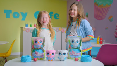Addy & Maya, from YouTube family Tic Tac Toy (CNW Group/Spin Master)