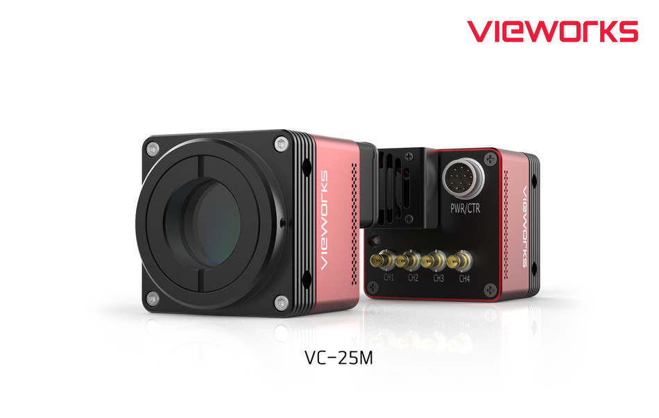 New VC-25M Camera Series (PRNewsfoto/Vieworks Co., Ltd.)