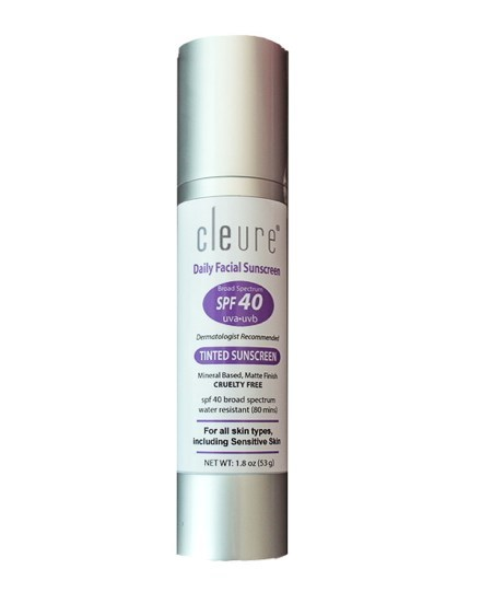 Cleure Launches New Hypo-Allergenic Tinted Sunscreen
