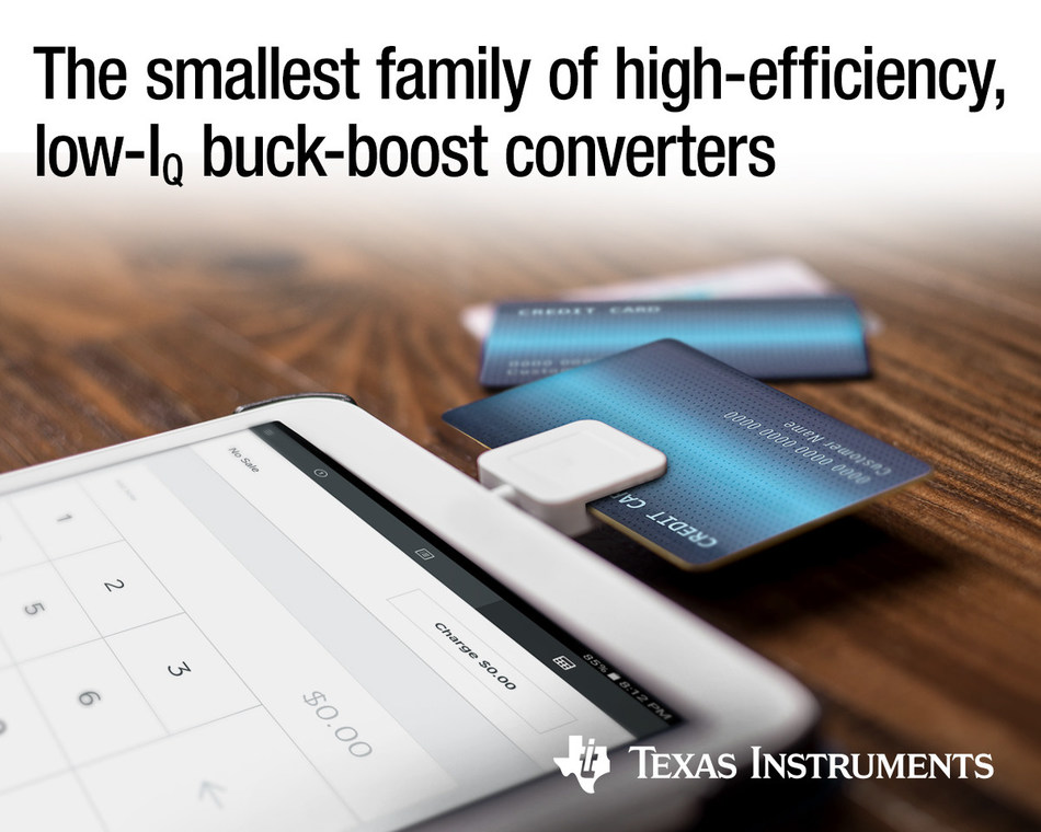 Engineers can extend run times in battery-driven applications with TI's high-efficiency, low-IQ converters