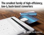 New family of adaptable buck-boost converters delivers up to 2.5 A in a tiny footprint to shrink board space