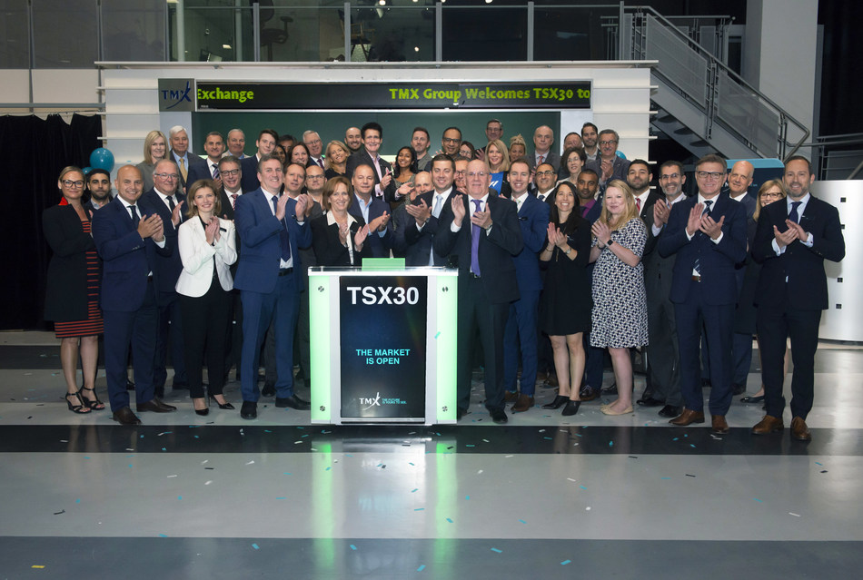 TSX30 Opens the Market (CNW Group/TMX Group Limited)