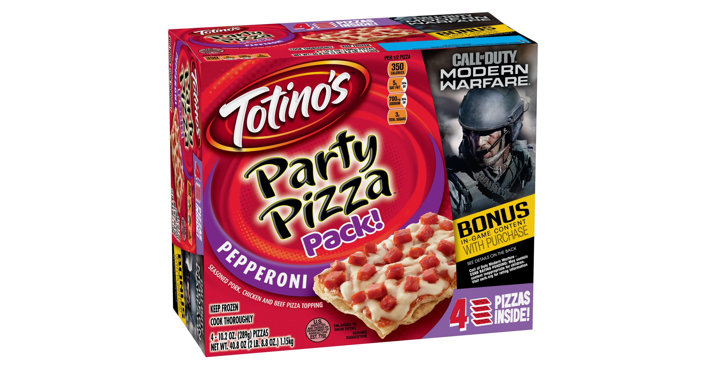 Totinos Teams Up With Activision In Advance Of Call Of Duty