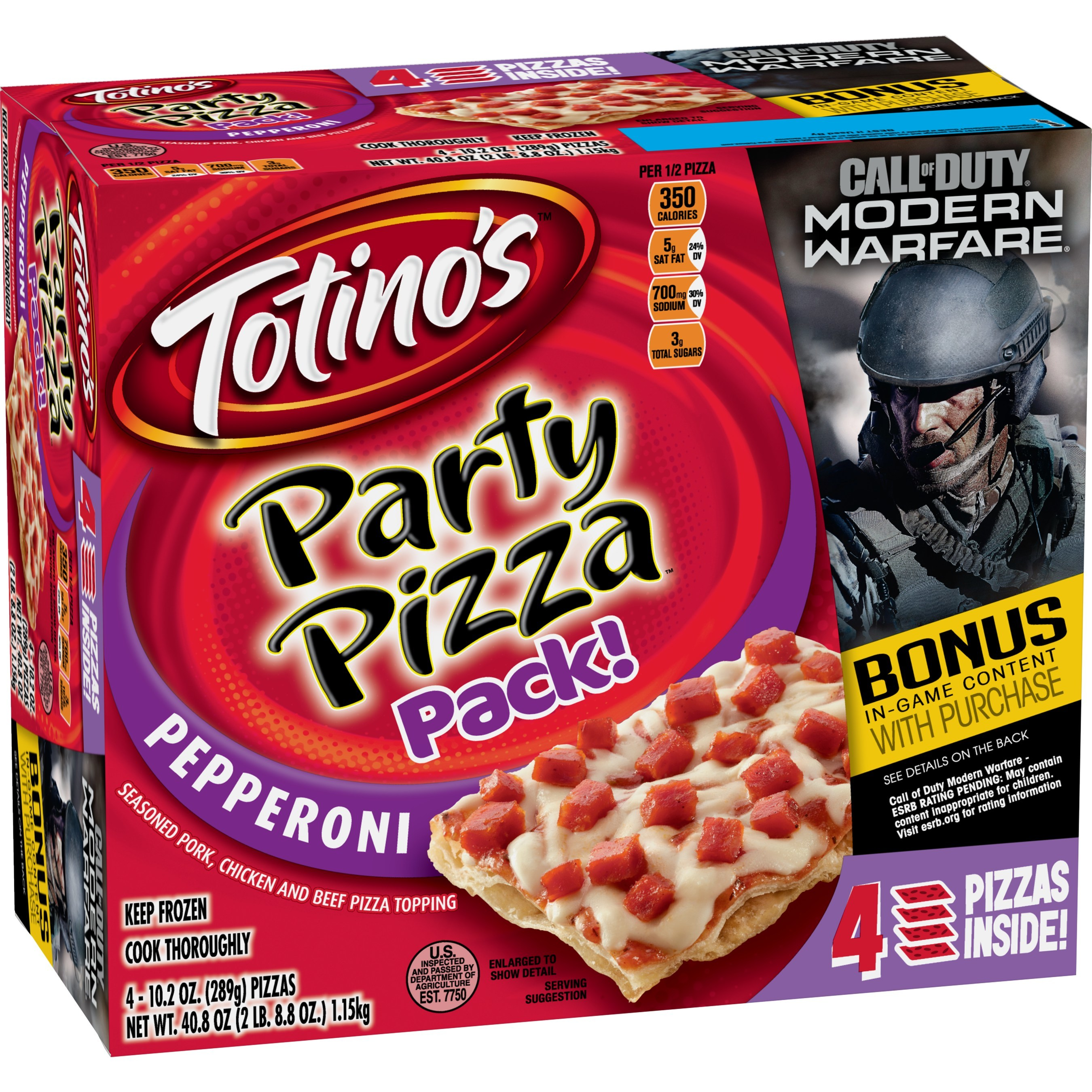 Totino S Teams Up With Activision In Advance Of Call Of Duty