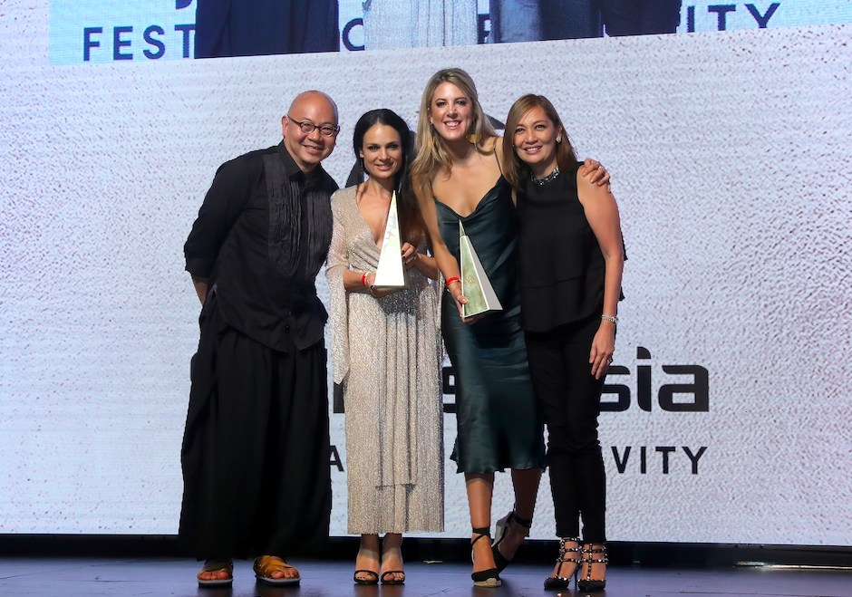 TBWA\Melbourne and ANZ's 'Signs of Love' won Grand Prix in Design and Grand Prix in Outdoor.