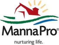 Manna Pro logo. Manna Pro is a leader in the care and nurturing of animals. The company has roots going back to 1842 and long-established brands in companion pet, equine, backyard chicken and small animal categories.