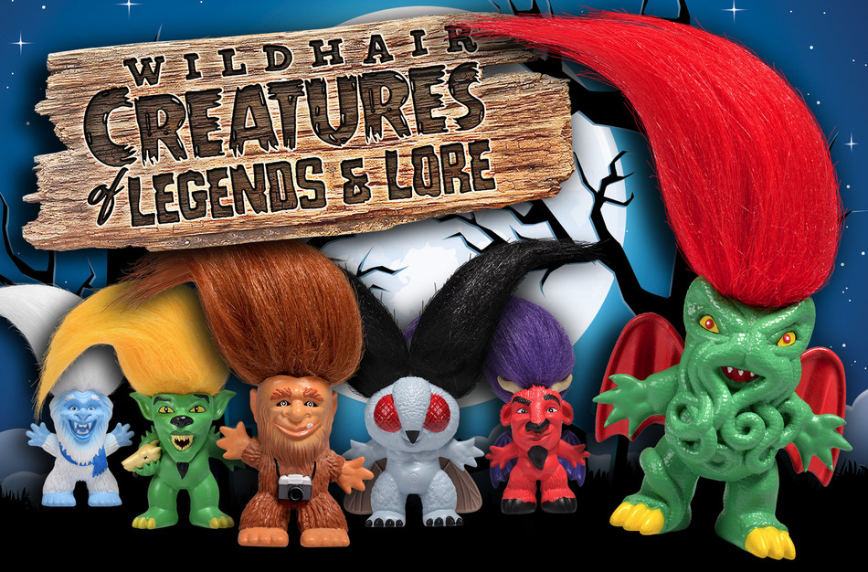 Let Wild Hair Creations' Sasquatch, Yeti, Chupacabra, Mothman and Cthulhu bring some hairy, but not so scary fun to your Halloween!