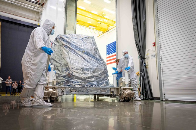 Ball Aerospace delivered the Operational Land Imager 2 for Landsat 9.